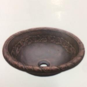 Chậu rửa mặt bằng đồng KanLy BS045 1