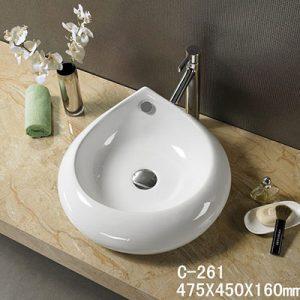 Chậu rửa dương bàn MOONOAH MN-C261 (47.5*45*16cm)