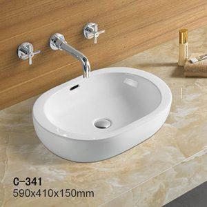 Chậu rửa dương bàn MOONOAH MN-C341 (59*41*15cm)