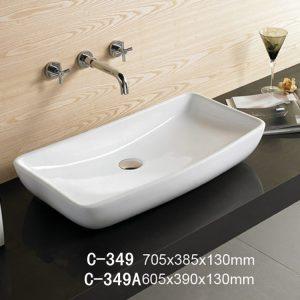 Chậu rửa dương bàn MOONOAH MN-C349 (70.5*38.5*13cm)