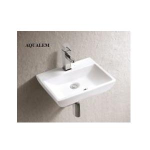 Chậu rửa mặt Aqualem FT276 ( treo hoặc đặt bàn)