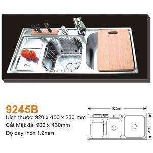 Chậu rửa bát AMTS 9245B (92x45cm) 1