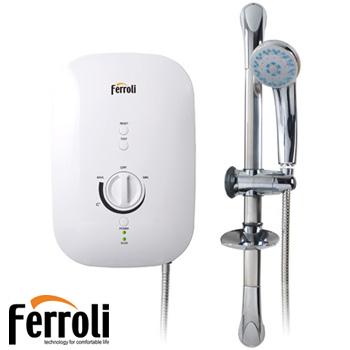 Bình nóng lạnh Ferroli Divo SSP( có bơm tăng áp) 1