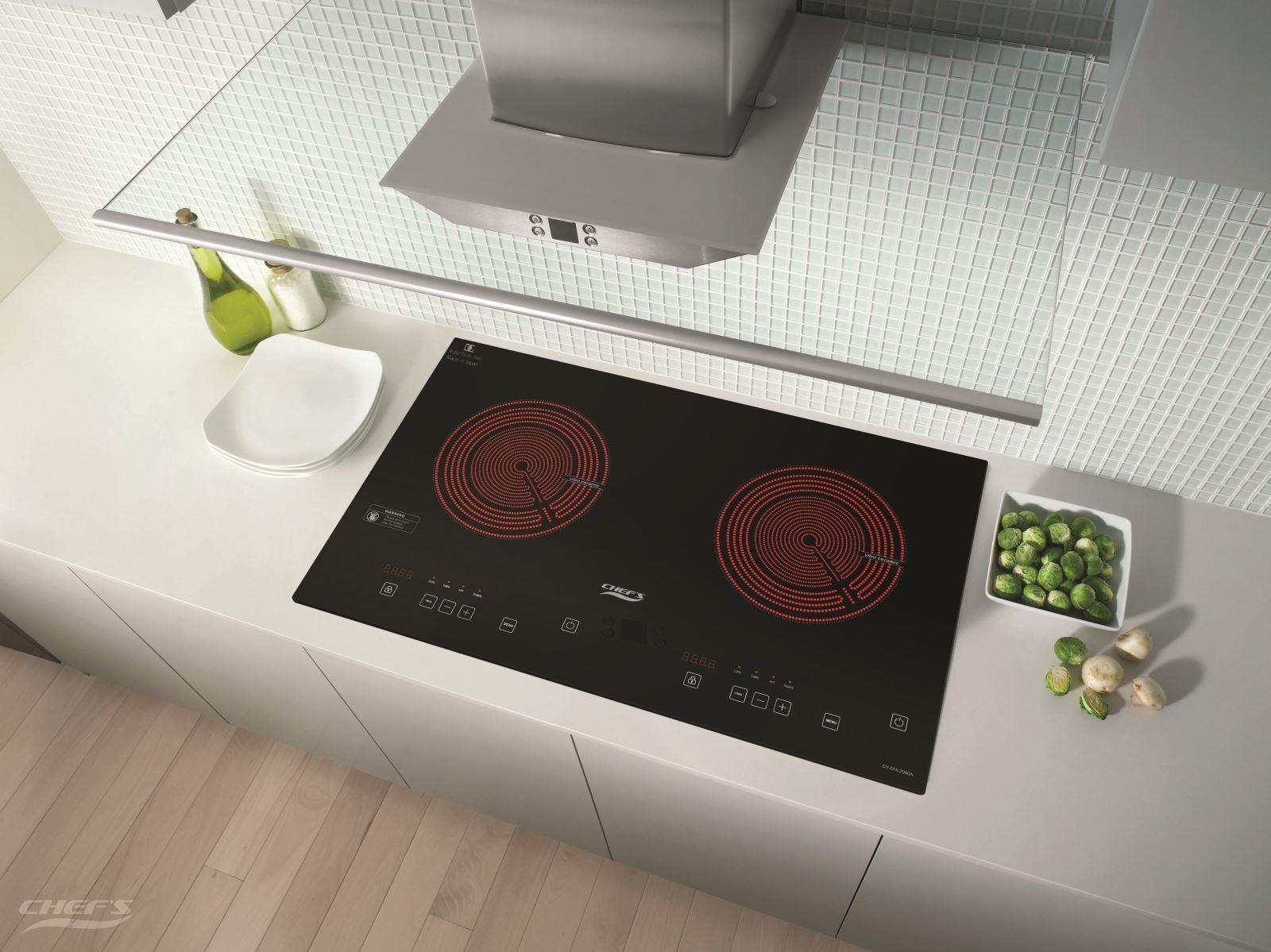 Bếp hồng ngoại đôi CHEFS EH-DHL2000A 1
