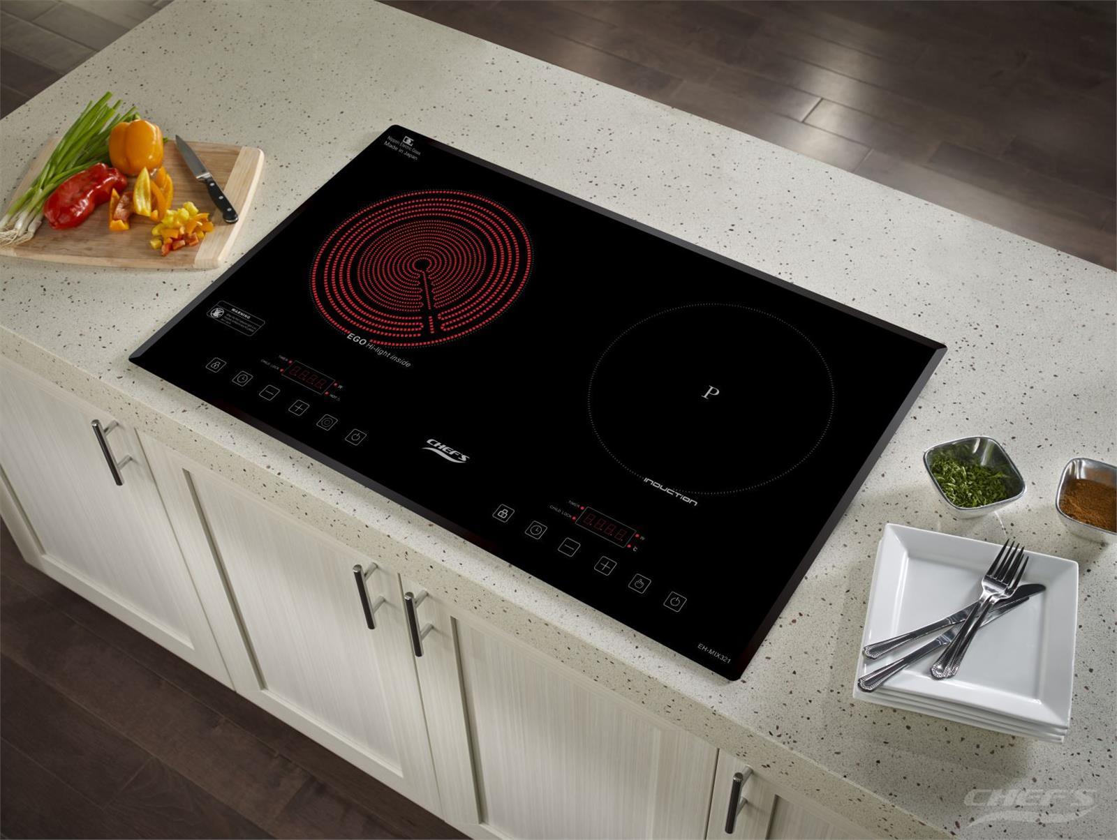 Bếp điện từ hỗn hợp CHEFS EH-MIX321 1