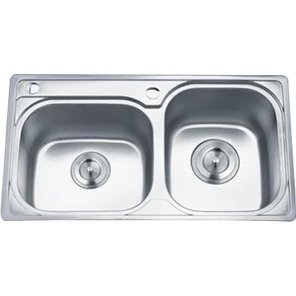 Chậu rửa bát 2 hố GORLDE GD-5302 1