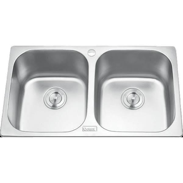Chậu rửa bát 2 hố cân GORLDE GD-5304 1