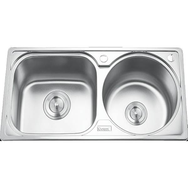 Chậu rửa bát 2 hố GORLDE GD-5312 1