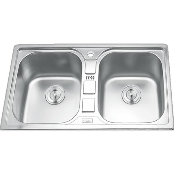 Chậu rửa bát 2 hố cân GORLDE GD-5612 1