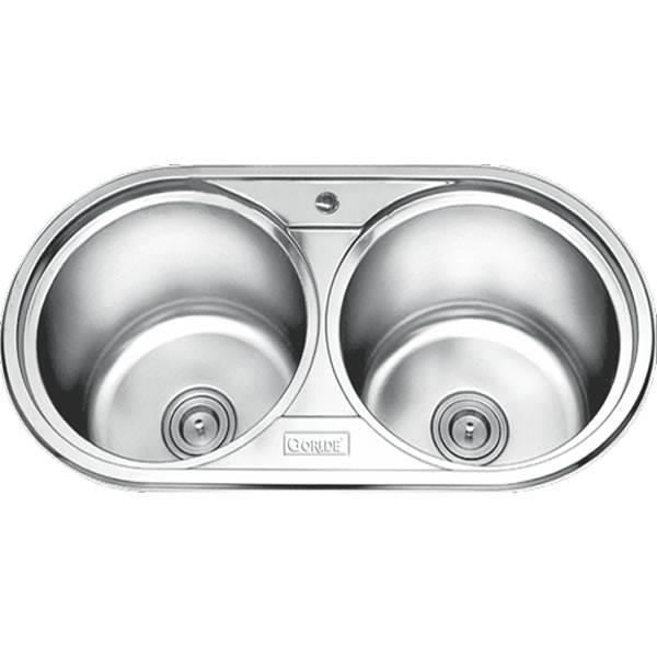 Chậu rửa bát 2 hố GORLDE GD-5903 1