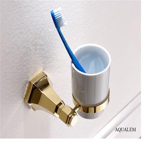 Kệ cốc đánh răng Aqualem GJ0108GD