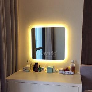 Gương đèn led trang điểm Navado