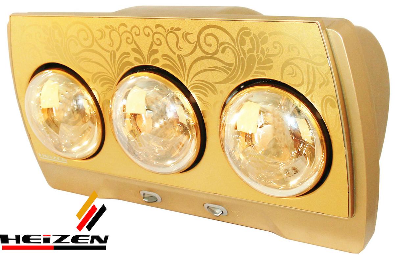 Đèn sưởi 3 bóng Heizen HE-3B 1