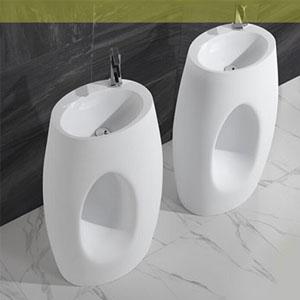 Chậu lavabo chân dài Moonoah MN-DR006