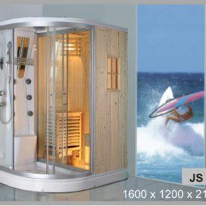 Phòng xông hơi khô, ướt Govern JS-8102 (1600*1200*2150)
