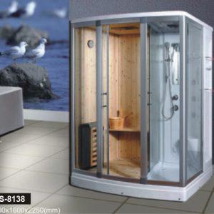 Phòng xông hơi khô, ướt Govern JS-8138 (1700*1200*2150)