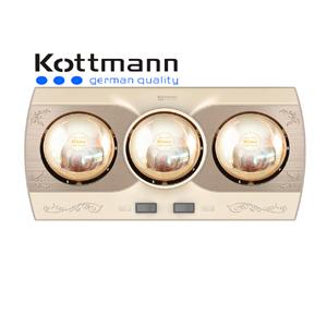 Đèn sưởi 3 bóng treo tường Kottmann K3B-Q