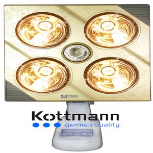 Đèn sưởi 4 bóng treo tường Kottmann K4B-G