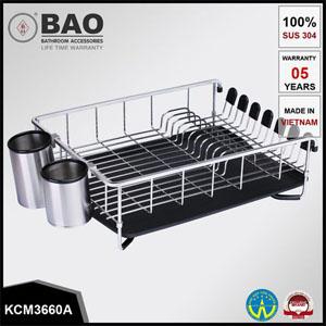 Kệ chén đĩa inox Bao KCM3660A