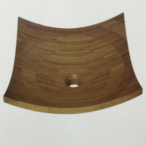 Chậu rửa mặt bằng tre, gỗ KanLy LTE31 1
