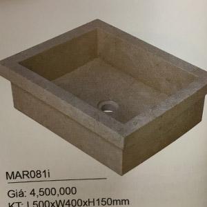 Chậu rửa mặt bằng đá KanLy MAR081i