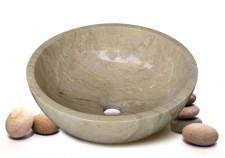 Chậu rửa mặt đá PAKISTAN KANLY MAR1-1 ( đặt bàn) 1