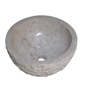 Chậu rửa mặt bằng đá KanLy MAR11Bi