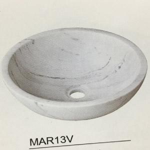 Chậu rửa mặt bằng đá KanLy MAR13V