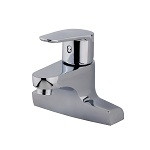 Vòi lavabo 02 lỗ nóng lạnh Mirolin MK 552 1