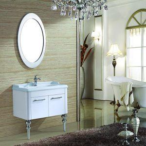 Bộ tủ chậu lavabo phòng tắm SUS304 MN-8802