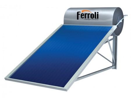 Bình năng lượng mặt trời ferroli dạng tấm 7