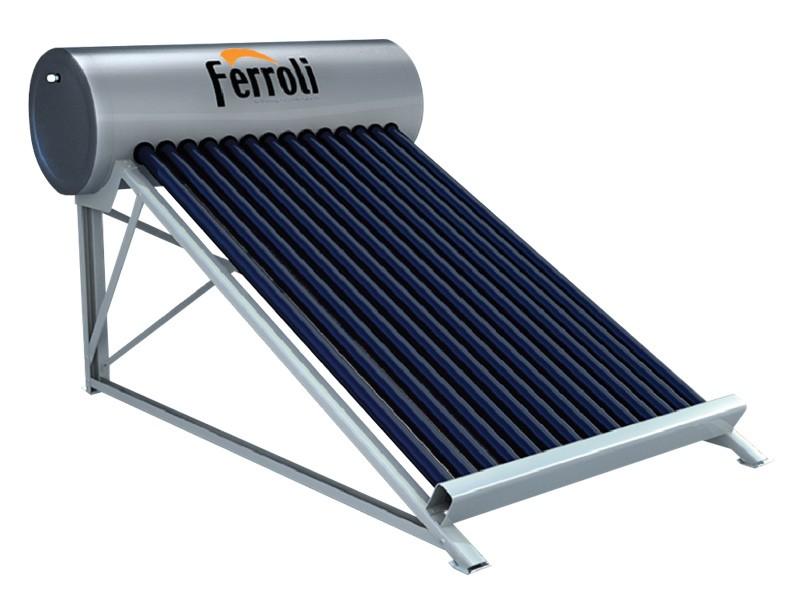 Bình năng lượng mặt trời Ferroli dạng ống nhập khẩu 5