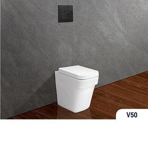 Bàn cầu két âm tường V50