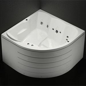 Bồn tắm đôi-góc massage Caesar MT5165