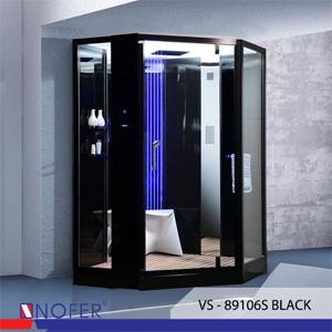 Phòng xông hơi Nofer VS-89106S Black