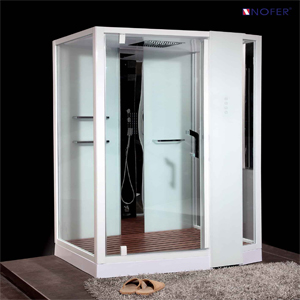 Phòng xông hơi Nofer VS-89105S (R) White