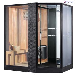 Phòng xông hơi Nofer VS-89103S (L) Black