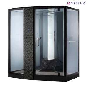 Phòng xông hơi Nofer VS-89102S (L) Black