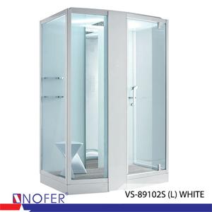 Phòng xông hơi Nofer VS-89102S (L) White