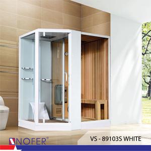 Phòng xông hơi Nofer VS-89103S (R) White