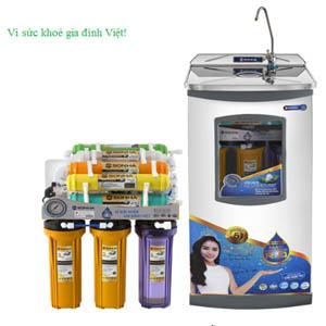 Máy lọc nước có tủ SHRO.109 Sơn Hà