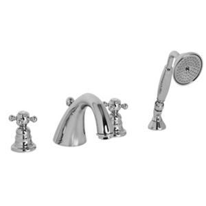 Bộ vòi nóng lạnh 4 lỗ cho bồn tắm Hafele Victoria 589.10.159