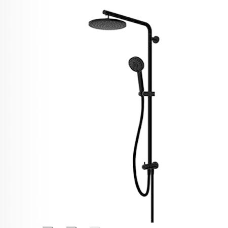 Bộ thanh sen tắm Hafele Mysterious kết hợp Inline hình tròn 589.85.530