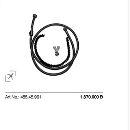 Bộ dây hỗ trợ SensoWash 485.45.991