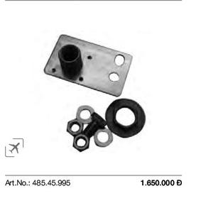 Bas đỡ cho bồn cầu treo Duravit 485.45.995