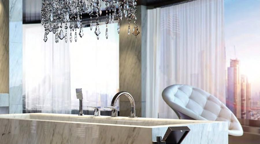 Bộ trộn bồn tắm Hafele InnoSquare 589.82.031 1