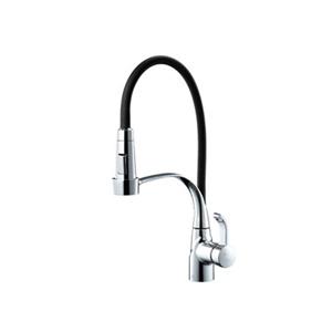 Vòi rửa bát nóng lạnh Sobisung YJ-8835 (Dây rút 4 màu)