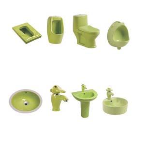 Thiết bị vệ sinh dành cho trẻ mẫu giáo ( màu xanh)