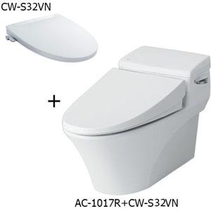 Bồn cầu nắp rửa cơ Inax AC-1017R+CW-S32VN