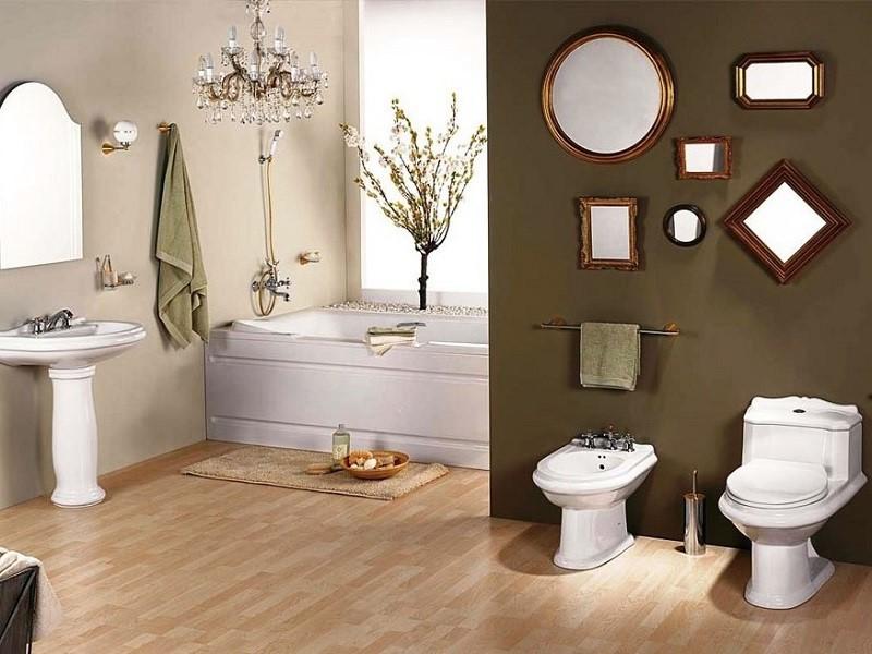 Phong thủy nhà tắm và nhà vệ sinh chuẩn giúp phát tài phát lộc